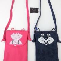 Tas selempang sling bag hp anak remaja abg impor MSB-141