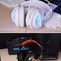 Headset Gaming Sades SA 704 locust A6 + headstand
