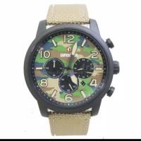Jam tangan pria expedition e6672m original black cream