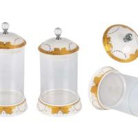 Glass candy jar Vicenza B802 / Toples Vicenza b802