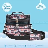 Tas Asi Natural Mom Elephant / Cooler Bag / Thermal Bag BONUS Ice Gel