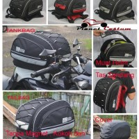 Tas Motor Helm cross Supermoto Full Half Face KYT NHK GM Carlgloss INK