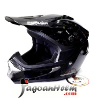 CARGLOSS Helm FORMER MX CROSS | Black Glossy | FullFace FMX CARGLOS