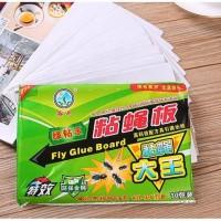 Lem Lalat Kertas Perekat Serangga Nyamuk Kecoak Fly Catcher Glue Board
