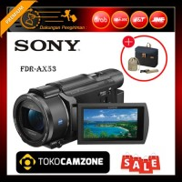 Sony FDR-AX53 4K Ultra HD Handycam Camcorder Free Bonus