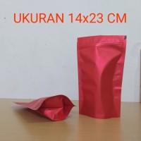 kemasan standing pouch 14x23 cm