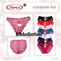 celana dalam wanita Transparent lace cd seksi sorex 31595
