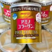 **BEST QUALITY** Meiji Amino Collagen Premium Kaleng Original Japan