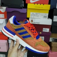Sepatu Sneakers Adidas ZX 500 RM Dragon Ball Son Goku