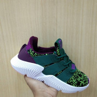 Sepatu Sneakers Adidas Prophere Dragon Ball Green Purple White