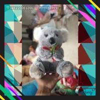 boneka koala karakter animal ukuran 35cm kado unik lucu