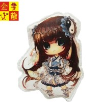 Anime Nendomakura Pillow Figure [Chibi Yin Yang Girl] Bantal Anime