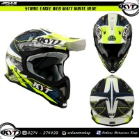 KYT, Strike Eagle, Web Matt,Trail, Cross, Trabas, Enduro, Helm