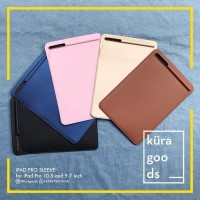 Casing Cover Slim iPad Pro 9 7 and 10 5 inch Sleeve Case PU Leather A