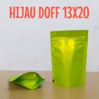 KEMASAN HIJAU DOFF ALUMUNIUM FOIL 14X20