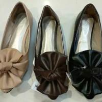 Flatshoes cantik pita merk FLADEO