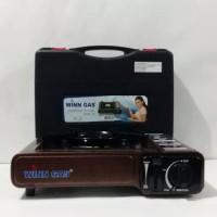 Kompor portable / kompor camping win gas 1b bisa pakai gas elpiji