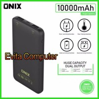 Power Bank Onix Boston 10000mAh Dual USB Output Real Capacity