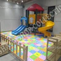 Evamat Angka Bergambar Karpet Main Anak 30x30 playmat 30 Alas Lantai