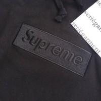 Supreme Tonal Black Box Logo Hoodie FW14 not off white bape places