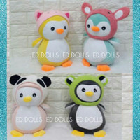BONEKA PENGUIN SOFT WITH COSTUME