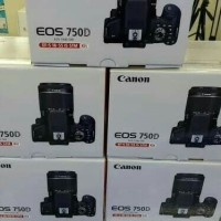 CANON EOS 750D LENSA 18-55 IS STM / CAMERA DSLR CANON EOS 750D KIT