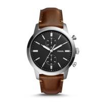 Jam Tangan Pria Fossil Townsman Chronograph Brown Watch - FS5280