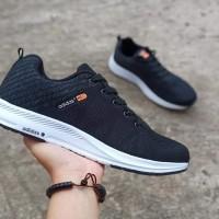 Sepatu Pria Adidas Neo Trainer Terbaru Primeknit Men's Running Black