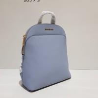 Tas Ransel Backpack Wanita Cewek Michael Kors MK Bag Authentic Grey