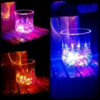 Gelas air sensor / Gelas led lampu disco