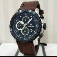 Jam tangan pria expedition original exp6372 silver black