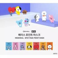 Masker Mediheal X BT21 Point Mask Sheet Korea