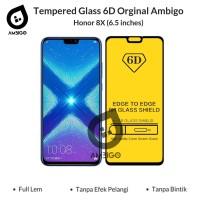 Tempered Glass 6D Honor 8X Full Cover Ambigo Original