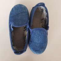 preloved sepatu bayi/anak merek Flossy style original bahan jeans 15cm