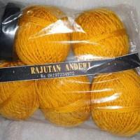 Paket Benang Rajut Hemat - Totebag Kuning Kunyit