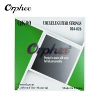 Senar Ukulele Clear Nylon Nilon Gitar Carbon Filer Orphee QK90