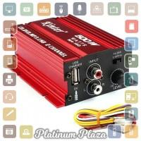 Kinter Amplifier Speaker 2 channel 500W - MA150 - Red`YCH6WN-