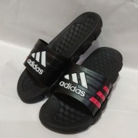Sandal Adidas Import | Selop Jumbo Adidas Triangle Logo Made in Viet