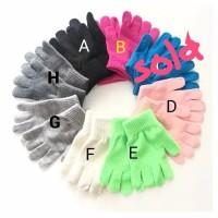 Kids gloves / sarung tangan anak (6-8 yo)