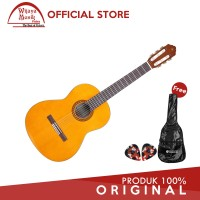 Yamaha Gitar Klasik CS 40 / CS40 (3/4) - Natural + Softcase & 2 Pick