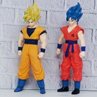 Paket 2Pcs action Figure Dragon Ball : Goku Dan Saiyan