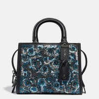 PO 8/12/18 - Coach Rogue 25 With Sequin Leather
