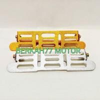 Braket / Tatakan Variasi Plat Nomor Motor DEPAN