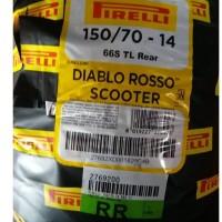 Ban Xmax Pirelli Diablo Rosso Scooter 150/70-14