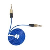 Kabel Aux Murah Securiguard Type Car Audio Gold - Blue