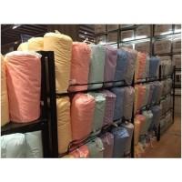 bedcover marshmallow dengan sarungnya / selimut INFORMA microfiber -