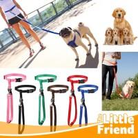 Leash Running/Tali Tuntun Anjing Hewan Peliharaan Olahraga di Pinggang