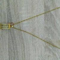 Perhiasan Liontin/Kalung Ulir Emas 18 Karat