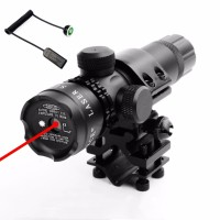 ASLI IMPORT ! Red/Green Laser Sight Remote Switch Suit 25.4/30mm
