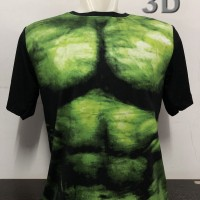 kaos baju distro superhero HULK SUIT 3D